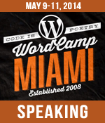 I am Speaking at WordCamp Miami 2014
